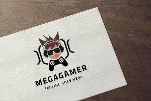 Mega Gamer Logo