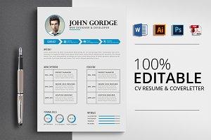 Resume CV Word Format