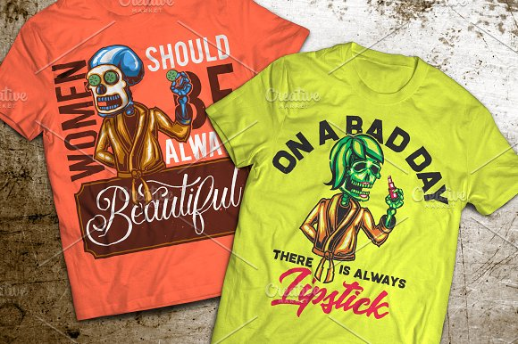 Cosmetic T-shirts And Poster Labels
