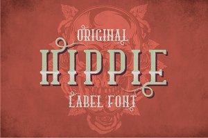 Hippie Modern Label Typeface