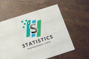 Statistics - Letter S  Logo