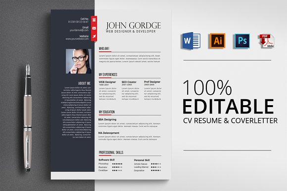 Word Job Resume CV