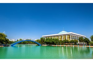 The Parliament of Uzbekistan in Tashkent