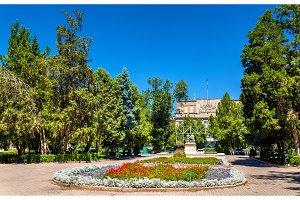 Central garden square of Bishkek, Kyrgyzstan
