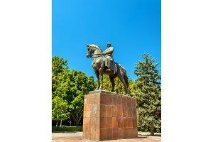 Statue of Mikhail Frunze in Bishkek, Kyrgyzstan