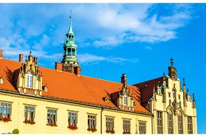 New City Hall in Wroclaw, Poland