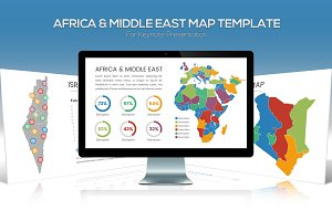 Africa & Middle East Maps Keynote