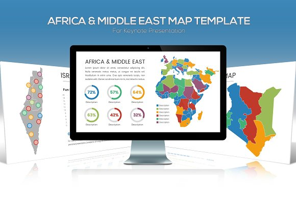 Africa Middle East Maps Keynote