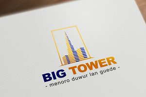 Big Tower Logo Template