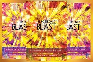 Electronic Blast Flyer