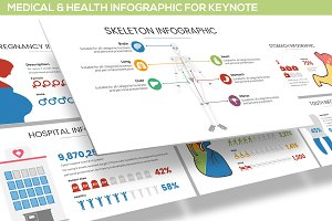 Health Infographic for Keynote