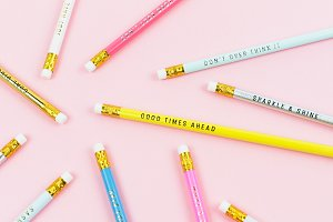 Styled Stock Photo - Pencils
