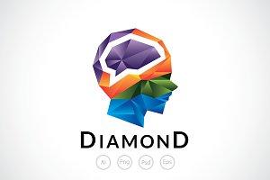 Crystal Mind Logo Template