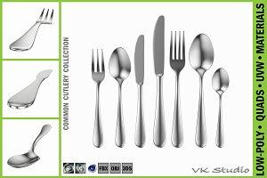 Common Cutlery Set 7 Pieces