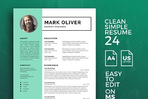 Resume Template 24