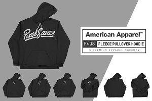 American Apparel F498 Pullover Hoody