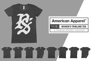 American Apparel TR301 Women's Tri T