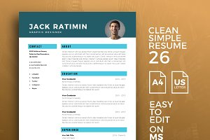 Resume Template 26