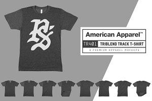 American Apparel TR401 Track T-Shirt