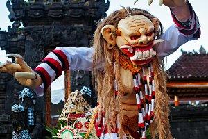 Rangda - traditional Balinese demon