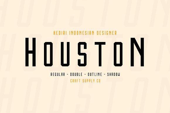 Houston Font Family