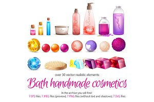 Bath and Spa Cosmetics