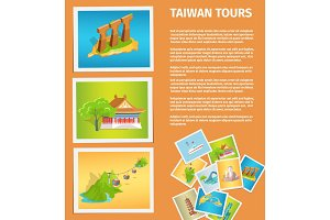 Travel Memories Flat Vector Web Banner