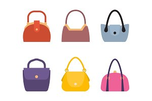 Spring Summer Collection of Women Bags Stylish Set