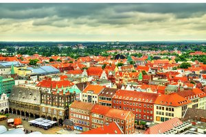 Old town of Lubeck - Germany