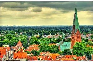 Aegidienkirche, Saint Aegidien church in Lubeck, Germany