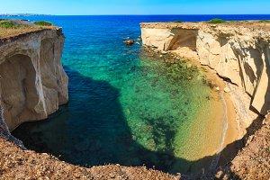 Summer sea coast bay