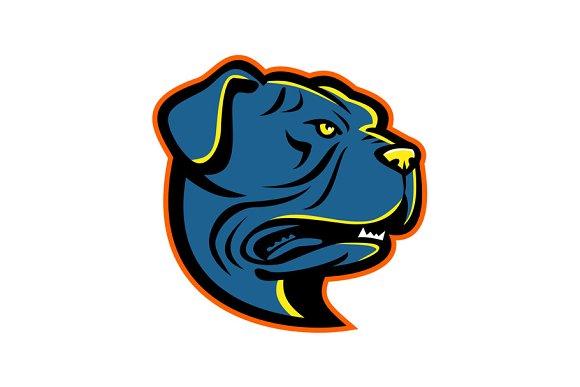 Leavitt Bulldog Head Mascot