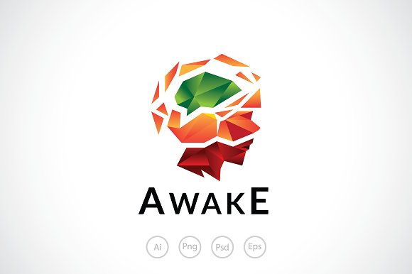 Awaken Mind Logo Template