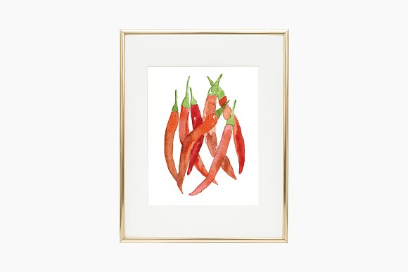 Red Hot Chili Peppers Illustration
