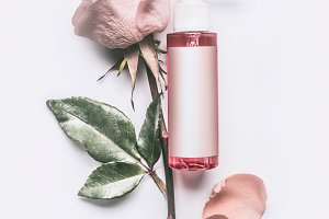 Roses essential cosmetic