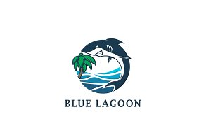 Blue Lagoon Shark logo