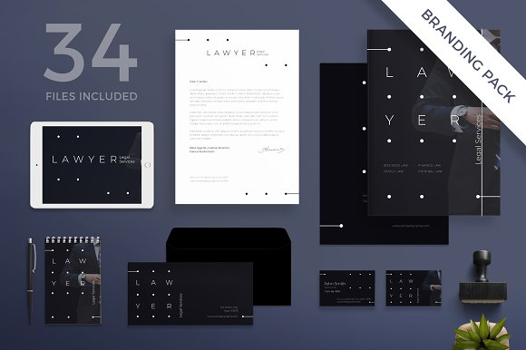 Branding Pack Lawyer Services
