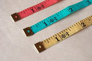 Tailor tape ruler in Cun (Chinese Inch)