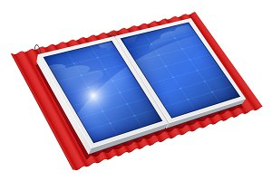 Solar panel for alternative energy.