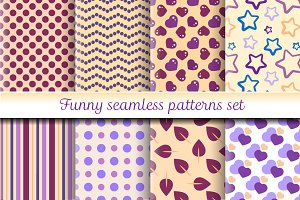 Funny simple patterns set №2