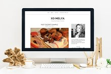 $10 OFF - BLOGGER TEMPLATE XOMELYA