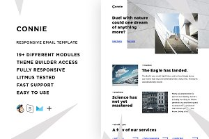 Connie – Email template + Builder