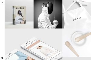 Kovan - Light Portfolio WP Theme