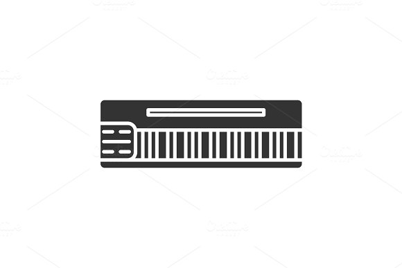 Mellotron Glyph Icon