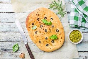 Traditional Italian Focaccia