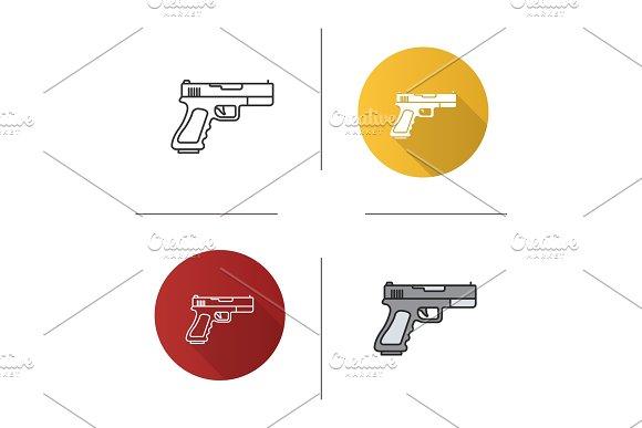 Gun Pistol Icon