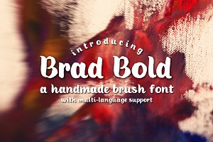 Brad Bold Typeface