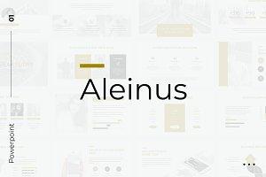 Aleinus Creative Minimal Powerpoint