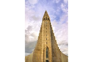 Hallgrimskirkja Cathedral, a Lutheran parish church in Reykjavik