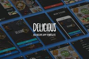 Delicious - iOS App Template